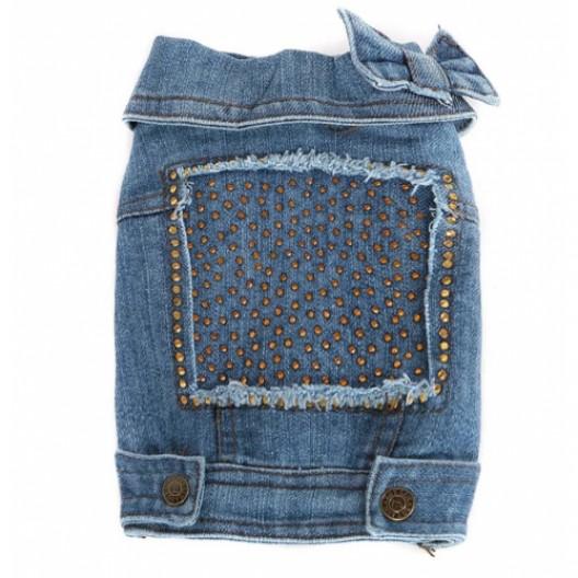 Купить Куртка джинсовая на кнопках