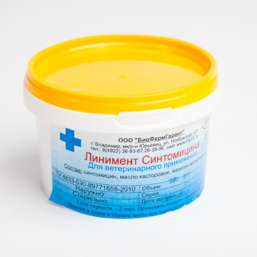 Купить Линимент синтомицина 10% 200 гр.
