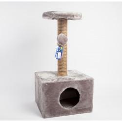 Домик-когтеточка квадратный малый
