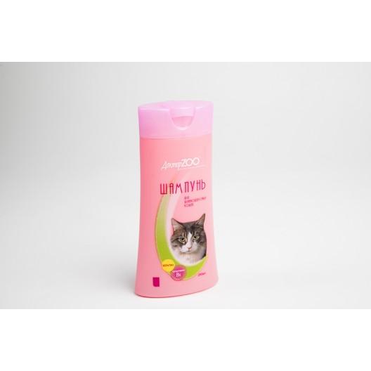 Купить Шампунь Доктор ZOO для длинношерстных кошек 250 мл