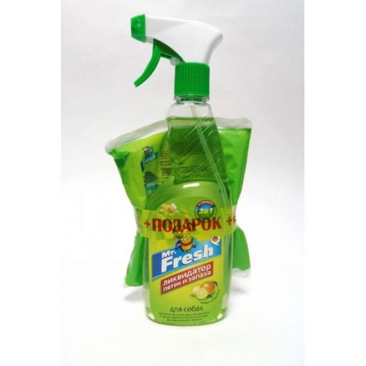 Купить Mr.Fresh Ликвидатор пятен и запаха для собак спрей 500 мл
