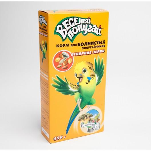 Купить Корм для волнистых попугайчиков отборное зерно 450 г.