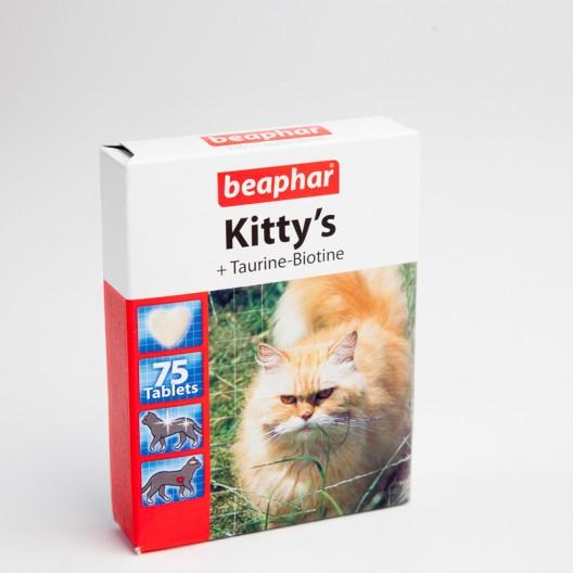 Купить Киттис таурин и биотин. 75 табл.