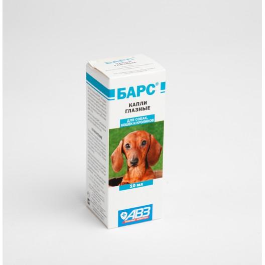 Купить Барс капли глазные для кошек и собак
