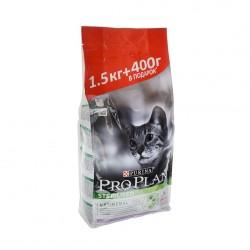 Проплан 1,5+400гр сухой корм для стерилизованных кошек Индейка