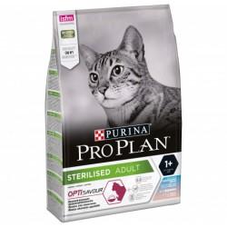 Проплан 1,5кг,сухой корм для стерилизованных кошек,треска+форель