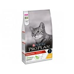 Проплан 3кг,сухой корм для взрослых кошек с курицей