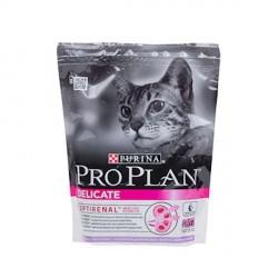 Проплан Сухой корм для кошек  с чувствительным пищеварением 400гр