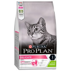 Проплан Сухой корм для проблемного пищеварения  для кошек, ягненок, 1,5кг