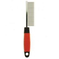 Расческа с частыми зубьями, 18см. пластиковая ручка