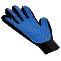Рукавица-щетка для шерсти из неопрена с удлиненными зубчиками