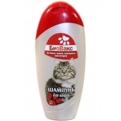 """Шампунь """"Биовакс"""" для кошек инсекцидный,200мл"""