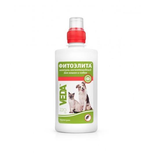 Купить Шампунь Фитоэлита инсектицидный для кошек и собак 220 мл