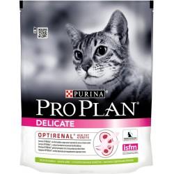 Проплан Сухой корм для проблемного пищеварения  для кошек, ягненок, 3 кг