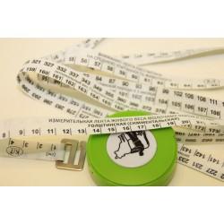 Лента мерная-рулетка для определения веса КРС и свиней
