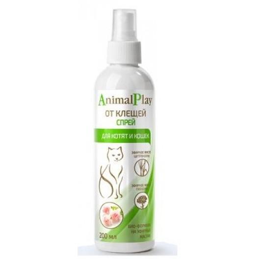 Animal Play Спрей от клещей для кошек 200мл