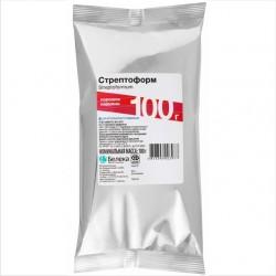 Стрептоформ присыпка (Полный аналог присыпки Эдис),в составе стрептоцид и йодоформ),100гр