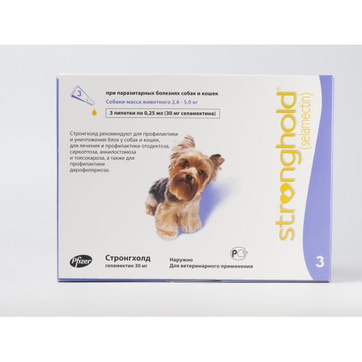 Купить Стронгхолд для собак  2,6 - 5,0 кг.