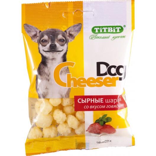 Купить Сырные шарики CheeserDog со вкусом говядины