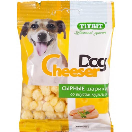 Купить Сырные шарики CheeserDog со вкусом курицы