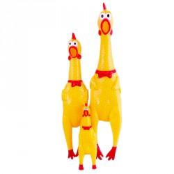 157514 игрушка Утка резиновая пищащая