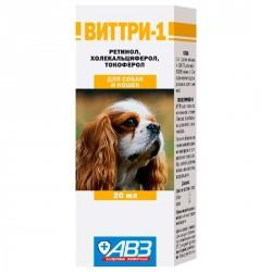 Виттри-1 (комбинированный витаминный препарат) для кошек и собак 20 мл