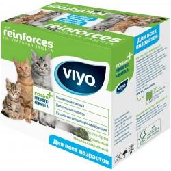 VIYO Reinforces All Ages CAT  пребиотический напиток для кошек всеx возрастов 1пакет*30 мл