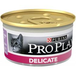 Проплан конс. д/кошек в соусе с уткой (85гр.)