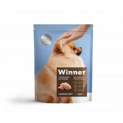 Winner,сухой корм из курицы для щенков мелких пород,3 кг (Мираторг)