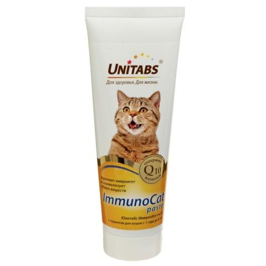 Юнитабс паста витамино-минеральная для кошек,120мл