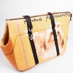 Сумка-переноска мягкая Собака
