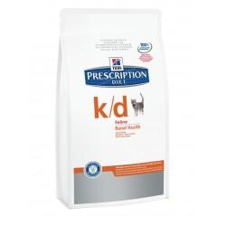 Hills Feline k/d для кошек Лечение заболеваний почек 400 гр.