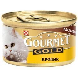 Корм д/кош Gourmet с кроликом