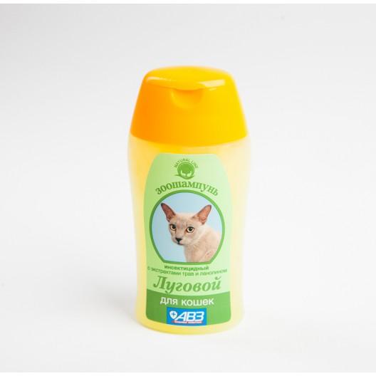 Купить Луговой шампунь инсектицидный для кошек  180 мл