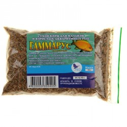 Корм для аквариумных рыб Гаммарус 10 гр
