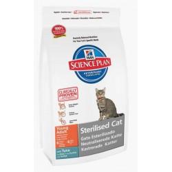 Hills Sterilised Cat 300 гр.  с тунцом