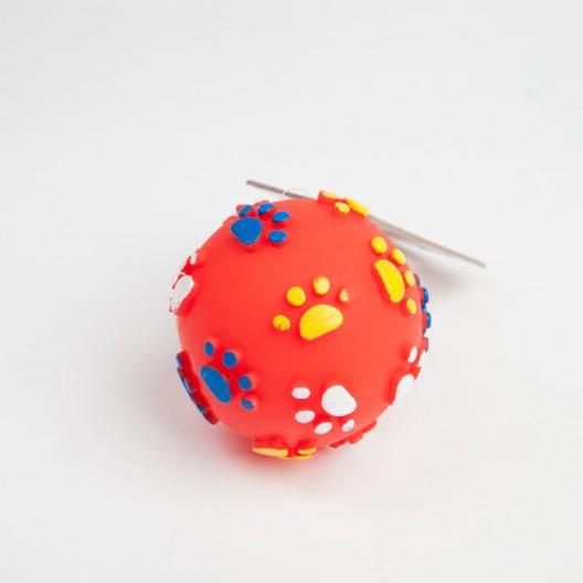 Купить Мяч Лапки резиновый 9 см