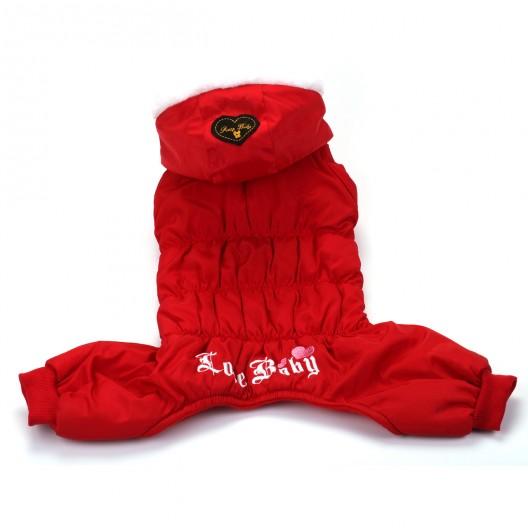 Купить Комбинезон Pretty baby красный 25 см