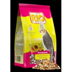 Рио Корм для средних попугаев в период линьки 500 гр