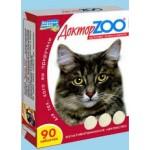 Доктор Zoo д/кошек Мультивитаминное лакомство, здоровье кожи и шерсти.