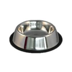 Миска из нержавеющей стали на резине 0,18 л (Китай)
