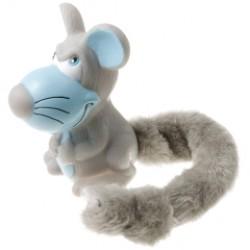 Игрушка винил с плюшевым хвостом Мышь, 11 см