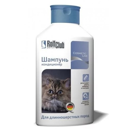 Купить Rolf Club Шампунь д/длинношерстных кошек 400мл