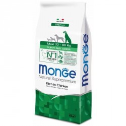 Monge maxi puppy and junior 15 кг