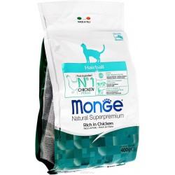 Monge Cat  Hairbaii корм для кошек выведения шерсти