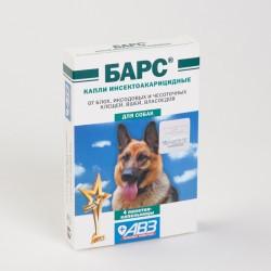 Барс капли инсектоакарицидные для собак №4