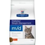 Хиллс m/d корм для кошек при диабете 1,5 кг