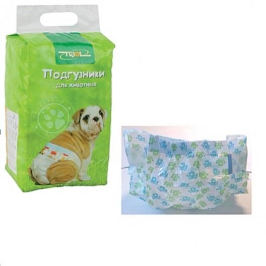 Купить Подгузники для собак и кошек Триол XS 2-4кг 22шт