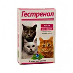 Гестренол, таблетки для регуляции половой охоты д/кошек