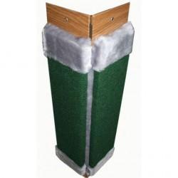 Когтеточка ковровая цветная №1 широкий мех